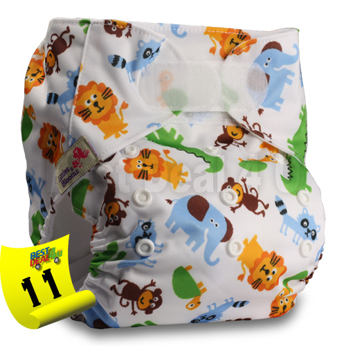 Baby-Washable-Reusable-Real-Cloth-STANDARD-Hook-Loop-Pocket-Nappy-Diaper miniature 16